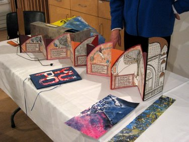Book Arts Guild of Vermont - Nancy Stone, guest speaker - February 2010