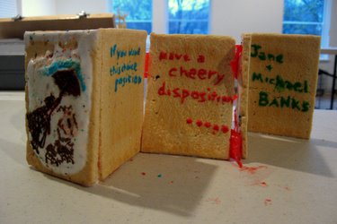 """Book Arts Guild of Vermont - Edible Book """"Mary Pop Tarts"""" - April 2010"""