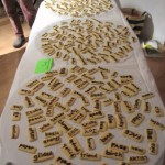 "Book Arts Guild of Vermont – Edible Book ""Refrigerator Cookie Poetry"" – April 2010"