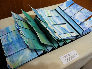 """Celebration of Handmade Books"" at Creative Space Gallery - May 2010"