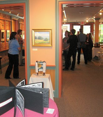 """""""Celebration of Handmade Books"""" at Creative Space Gallery - May 2010"""