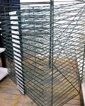 Wire paper rack