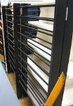 Wood paper rack