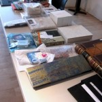 Book Arts Guild of Vermont – Sharing books from Creative Space exhibit – June 2010