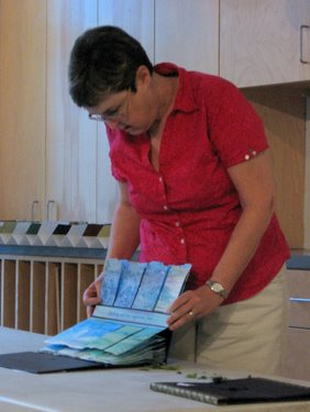 Book Arts Guild of Vermont – Sharing books from Creative Space exhibit - June 2010