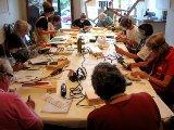 "Jill Timm workshop ""The Amazing Dremel"" - Book Arts Guild of Vermont"