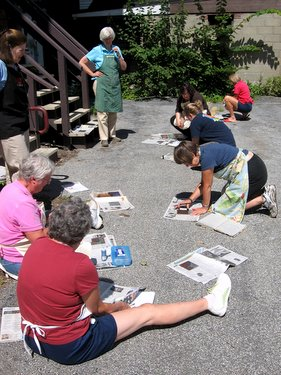 Book Arts Guild of Vermont - The Amazing Dremel with Jill Timm - July 2010