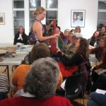 Book Arts Guild of Vermont – Leather Binding with Elizabeth Rideout – October 2010
