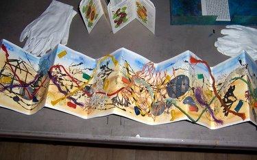 Book Arts Guild of Vermont - Handmade Book by Judy Brook - November 2010