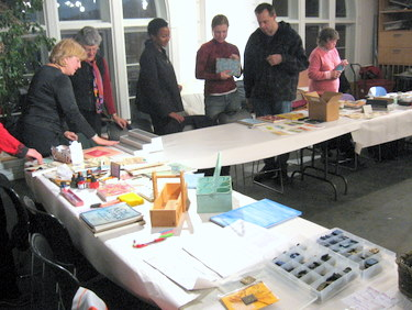 Book Arts Guild of Vermont - Annual Ethnic Potluck with Swap and Sale 2009