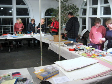 Book Arts Guild of Vermont - Annual Ethnic Potluck with Swap and Sale 2010