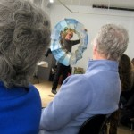 Book Arts Guild of Vermont – An Evening with Ken & Woody Leslie – March 2011