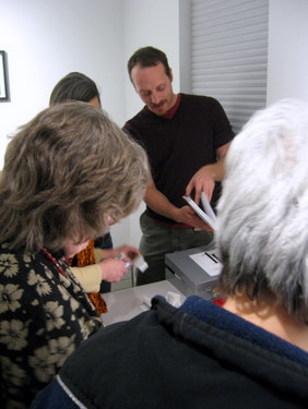 Book Arts Guild of Vermont - An Evening with Ken & Woody Leslie - March 2011