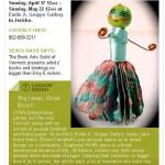 """Big Ideas, Small Books"" exhibit mention in Seven Days"