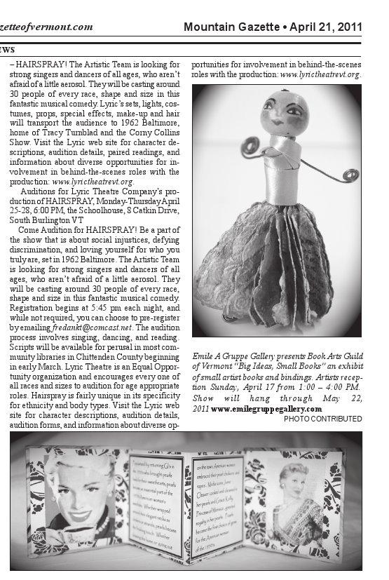 The Mountain Gazette - May 21, 2011