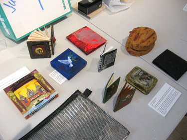 Book Arts Guild of Vermont - Sharing Books from our Spring exhibition Big Ideas, Small Books - June 2011