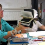 Book Arts Guild of Vermont – Piano Hinge Binding with Jill Abilock – September 2011