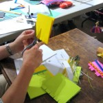 Book Arts Guild of Vermont – Piano Hinge Binding with Jill Abilock – September 2011