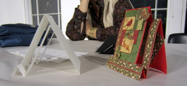Book Arts Guild of Vermont - Card Tricks with Gwen Morey & Jennifer Alderman - December 2011