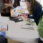 Book Arts Guild of Vermont – Card Tricks with Gwen Morey & Jennifer Alderman – December 2011