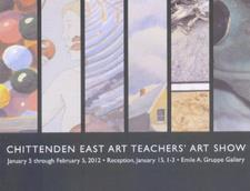 Chittenden East Art Teachers' Art Show postcard