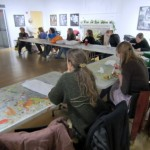 Book Arts Guild of Vermont – Show & Tell, Bring & Sell, and Meet & Munch – January 2012