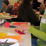 Book Arts Guild of Vermont – Folded Books with Elissa Campbell – February 2012