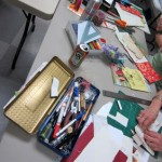 Book Arts Guild of Vermont – Build-a-Book Round Robin with Jill Abilock – March 2012