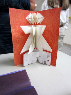 Book Arts Guild of Vermont - Build-a-Book Round Robin with Jill Abilock - March 2012