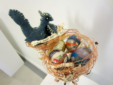 "Handmade book ""Nest"" by Nikki King"