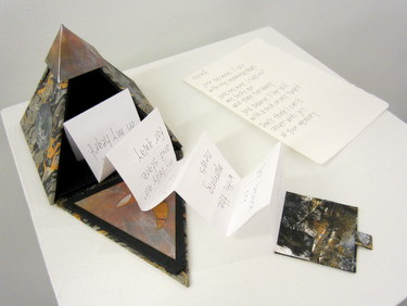 "Handmade book ""Grief"" by Marcia Vogler"