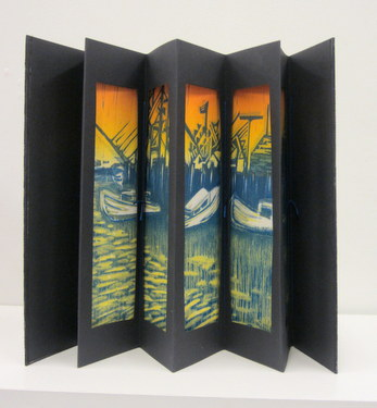 "Handmade book ""Cape Cod Views"" by Janet Ballentyne & David Sokol"