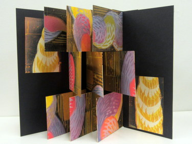 "Handmade book ""The Mystery of Space"" by Janet Ballentyne & David Sokol"