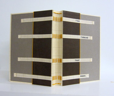 "Handmade book ""The Thread That Binds"" by Deborah Howe"