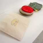 "Handmade book ""Dream Burger"" by Marcia Vogler"