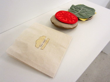 "Handmade book ""Dream Burger"" by Marcia Vogler"