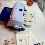 Zyron machine – Book Arts Guild of Vermont Open Bindery – June 2012