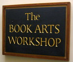 Darmouth Book Arts Workshop sign