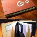 Travel Journal by Elissa Campbell of Blue Roof Designs