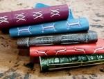 Handbound leather journals