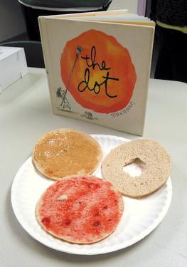 Edible book - The Dot