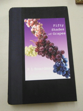 Edible book - Fifty Shades of Grapes