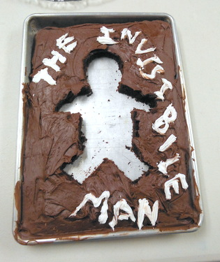 Edible book - The Invisible Man