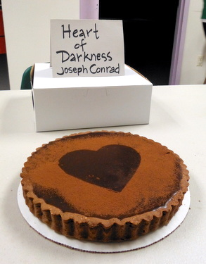 Edible book - Heart of Darkness