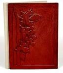 Handmade leather book