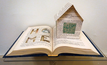 Altered book by Amy Burns