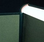 Full leather bound book