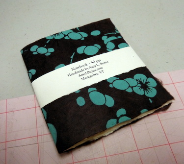 Handmade book by Amy Burns