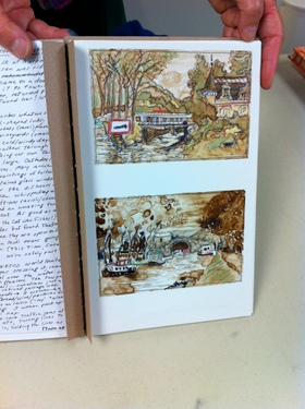 Artist journal by Nancy Stone