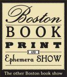 Poster Boston Book, Print, and Ephemera Show